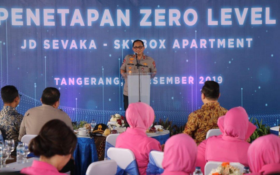 Acara Penetapan Zero Level Apartemen JD Sevaka-Skybox